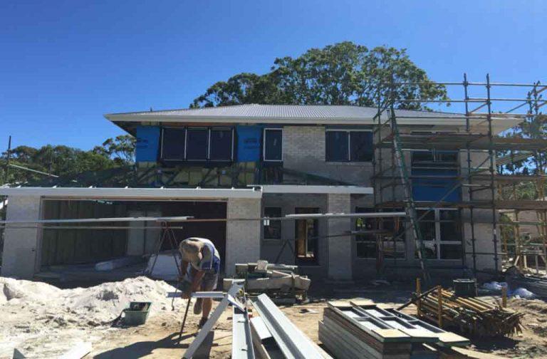 Bridgeman Downs Construction